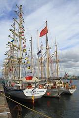 IMG_1673 (Paco Gonzlez1) Tags: puerto muelle corua barco cuttysark 2012 velero tallshipsrace trasatlantico