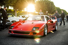 F40 (Bernardo Macouzet Photography) Tags: california county orange classic cars beach coffee twin ferrari turbo newport oc v8 irvine f40