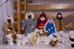 Knitivity or Knitted Nativity at St John The Baptist Church Dodworth (105) (PHH Sykes) Tags: church saint st john baptist knitted figures nativity the dodworth knitivity