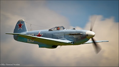YAKOVLEV YAK-3M (WHITE 100) (Wings & Wheels Photography.) Tags: yak england duxford russian bdp cambridgeshire 2012 imperialwarmuseum iwm yakovlev aviationphotography flyinglegendsairshow white100 bluediamondphotographic yakovlevyak3m bluediamondaviation