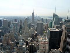 Rockefeller Center Observation Deck (Brian Bowrin) Tags: new york city trip centre center rockefeller 2012 bowrin 2010s