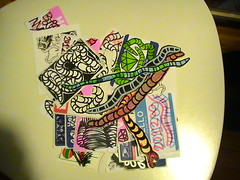 pack from dcoi (Mask-KLPR-) Tags: art sketch sale stickers pack session slaps