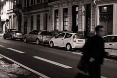 In the wrong way (Enthuan) Tags: road street bw cars canon way photography sigma running wrong lille antoine 30mm 500d