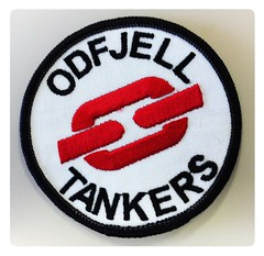 Odfjell Tankers (tord75) Tags: logo chainlink odfjell odfjelltankers uploaded:by=flickrmobile flickriosapp:filter=nofilter
