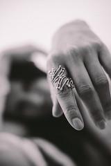 DSCF5027.jpg (Patrick Chondon) Tags: bw woman 35mm girlfriend hand finger 14 ring foreground fujixe1