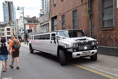 DSC_8140 Brick Lane London White Hummer H2 limo WHO4HUM (photographer695) Tags: brick lane london white hummer h2 limo who4hum
