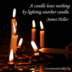 quote-liveintentionally-a-candle-loses-nothing-by (pdstein007) Tags: quote inspiration inspirationalquote carpediem liveintentionally