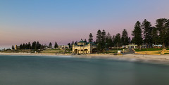 Cottesloe Beach || Perth (David Marriott - Sydney) Tags: cottesloe beach pavillion long exposure belt venus sunset twilight trees sky water seascape
