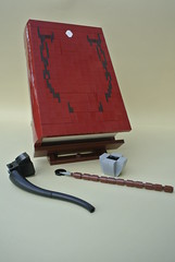 Bilbos Book (-Balbo-) Tags: lego moc bilbo book frodo lord rings hobbit pipe middle earth balbo