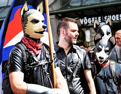 Zurich: Pride parade-June 2016 (4) (Ioan BACIVAROV Photography) Tags: zurich switzerland helvetia suisse prideparade gay colourful color june 2016 dog dogs mask bacivarov ioanbacivarov photostream interesting beautiful wonderful wonderfulphoto