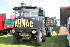1929 Sentinel Steam Waggon UX 5355 (SR Photos Torksey) Tags: lincolnshire steam vintage vehicle rally show showground truck transport traction engine sentinel waggon tarmac