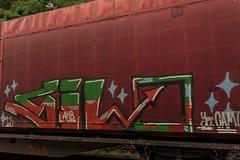 0215_2016_07_01_Baunatal_Rengershausen_DB_185_173_mit_gem_Gterzug_Kassel^_Graffiti (ruhrpott.sprinter) Tags: ruhrpott sprinter geutschland germany nrw ruhrgebiet gelsenkirchen lokomotive locomotives eisenbahn railroad zug train rail reisezug passenger gter cargo freight fret diesel ellok hessen baunatal rengershausen db can hlbahn heb rbh rbk rhc txl 101 114 120 146 151 185 272 427 428 429 452 646 705 707 714 715 628 928 kurhessenbahn frankenberg eder aschenputtel froschknig rapunzel rotkppchen ic r5 r9 re30 re98 rt5 graffiti natur outdoor logo