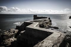 Fife LE (1 of 10) (Muse2k8) Tags: fife scotland long exposure coast coastal sea beach black white zig zag st monans