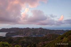 Pink Clouds over Anijima (yukirichards) Tags: ogasawara chichijima tokyo island unesco worldnaturalheritage clouds pink dusk sunset pinkclouds nikon d610