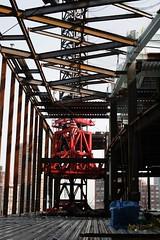 Morgan Niznik 200 west street zigzag steel (Morgan Niznik) Tags: morgan niznik 200 west street sky lobby steel erection tower crane