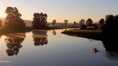 into the light (janicelemon793) Tags: pittriver landscape sunrise mist pittmeadows britishcolumbia