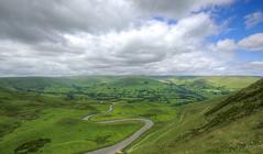 Hillocks, Hummocks, Lumps, Bumps and Knolls (Non Paratus) Tags: mamtor derbyshire peakdistrict england uk clouds sky landscape hillocks hummocks hills landslips landslides