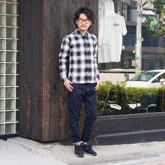 August 17, 2016 at 02:21PM (audience_jp) Tags: shop fashion audienceshop  ootd japan kouenji snap       2016aw   upscapeaudience tokyo madeinjapan audience   coordinate aud1718