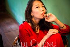 Adi_0024 (Adi Chng) Tags: adichng girl      redgreen
