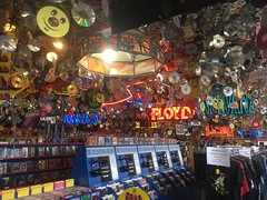 rolling stones records. august 2016 (timp37) Tags: signs sign music bands cds rolling stones records august 2016 norridge illinois store nirvana pink floyd