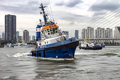 Fairplay 23 (R. Engelsman) Tags: fairplay23 fairplay tug ship vessel rotterdam wereldhavendagen imo 9148776 outdoor vehicle boat 010 netherlands nl show event sleepboot