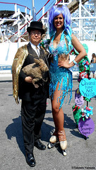 Dr. Takeshi Yamada and Seara (Coney Island Sea Rabbit) at the Mermaid Parade by the Coney Island Beach in Brooklyn, New York on June 18, 2016.  20160618SAT MERMAID PARADE. DSCN6613=p-2020C1 (searabbits23) Tags: searabbit seara takeshiyamada  taxidermy roguetaxidermy mart strange cryptozoology uma ufo esp curiosities oddities globalwarming climategate dragon mermaid unicorn art artist alchemy entertainer performer famous sexy playboy bikini fashion vogue goth gothic vampire steampunk barrackobama billclinton billgates sideshow freakshow star king pop god angel celebrity genius amc immortalized tv immortalizer japanese asian mardigras tophat google yahoo bing aol cnn coneyisland brooklyn newyork leonardodavinci damienhirst jeffkoons takashimurakami vangogh pablopicasso salvadordali waltdisney donaldtrump hillaryclinton endangeredspecies parade