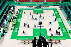 Wheelchair basketball - Australia x Canada (Andre Alas) Tags: wheelchair basketball australia canada basquete cadeira de rodas rio 2016 jogos paralímpicos paralympic