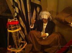 (Abdullah Rashed - KWT ( excuse 4 slow replies)) Tags: old men wool mobile wear clothes national kuwait tradition cloth maker abu museam manufacture iphone rashed abdullah            bisht    bshoot  10oct2012
