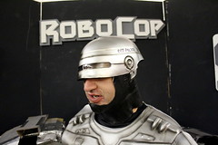 SPLATTER CINEMA: ROBOCOP (Dont Open Until Dooms Day) Tags: gore horrormovie ed209 plazatheatre splattercinema roboco atlantahorror