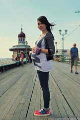 Jem - Maternity. (Muta Takes A Picture) Tags: mom pier nikon wind mother pregnancy pregnant maternity mum blackpool d60