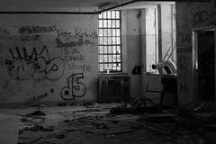 (Colleen Schmitt) Tags: park new york blackandwhite white newyork black building abandoned broken digital canon hospital island rebel 50mm graffiti suffolk insane long paint exploring center spray longislandny longisland haunted adventure kings haunting canonrebel kingspark 93 asylum psychiatric urbanexploring mental kingsparkpsychiatriccenter kppc suffolkcounty building93 longislandoddities t1i canonrebelt1i canont1i kingsparkny