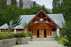 PTDC Motel Khaplu (IshtiaQ Ahmed revival to Photography) Tags: pakistan stone wooden walnuts motel areas northern ahmed accomodation saling ishtiaq khaplu ganche gilgitbaltistan