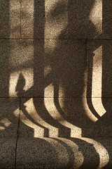 Curvature II (cazphoto.co.uk) Tags: london wall architecture shadows photoshoot curve britishmuseum railings photographiccoaching