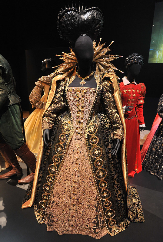 Shakespeare in Love - Dame Judi Dench as Elizabeth I Hollywood Costume - press view held at the Victoria and Albert Museum. London, England - 17.10.12 Daniel Deme/WENN.com