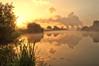 Power in the mist~Explored (Captain Nikon) Tags: mist misty sunrise reflections golden moody powerstation atmospheric rivertrent ratcliffepowerstation