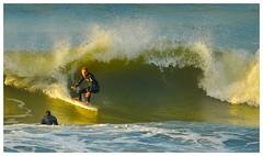 Surfing in New Plymouth (Bernzfotos - Bernard Golder Photography) Tags: newzealand nikon surfing nz nikkor taranaki newplymouth d300 nouvellezélande nikond300 nikkorvr70200mmf28 bernzfotos