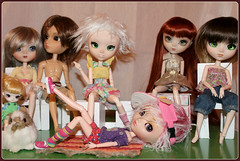 Pullip family, autumn 2012 l Who would you adopt? (pullipsarecute) Tags: family doll dolls tag dal