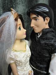 Sweet couple :) (beastsbelle) Tags: store doll disney eugene rider rapunzel flynn tangled fitzherbert