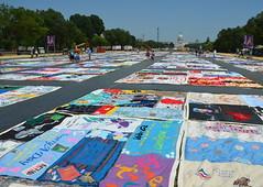 AIDS Memorial Quilt 1 (afagen) Tags: favorite washingtondc smithsonian dc washington quilt nationalmall aidsquilt smithsonianfolklifefestival folklifefestival aidsmemorialquilt