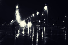 (Rainy Season in Chennai) (VinothChandar) Tags: road light people blackandwhite india storm beach nature rain weather night marina canon walking shower photography lights photo lowlight couple rainyday photos pics streetlights walk madras picture stormy pic rainy 5d raining chennai climate tamilnadu rains badweather rainyseason beachroad canoneos5dmarkii chennaimarinabeach chennaimarina