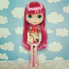 Everyone meet Zahra - my fabulous birthday pressie :) She's a stunning custom by #minnalove from Japan