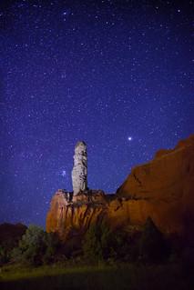 Stars over Kodachrome Basin