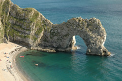 Durdle Door (Row 17) Tags: sea england beach coast cliffs worldheritagesite dorset footpath nationaltrail