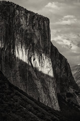 El Capitan (Brian Hammonds) Tags: california road park trip travel trees light shadow summer bw usa white black mountains west green nature beautiful beauty america trekking trek dark outside outdoors photography coast photo nikon photographer adams natural bright hiking united el adventure national valley yosemite western states elcapitan ansel capitan pristine d7000