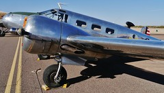 102712-069, N145AZ  Beech C45 (D18S) (skw9413) Tags: arizona aircraft 1442mmlens copperstateflyin