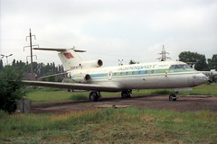 CCCP-87773 Yakovlev YAK-40 Aeroflot (pslg05896) Tags: ukraine aeroflot yakovlev yak40 krivoyrog kryvyirih cccp87773