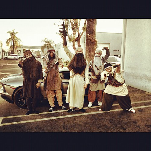 chris brown taliban costume