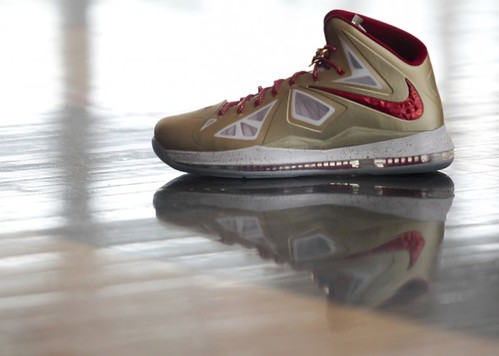 Nike Lebron X Championship Gold Colorway