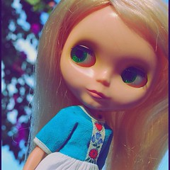 I remember of the place. It is same place. #blythe #blythedoll