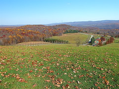 Views From Kentuck Knob (+David+) Tags: view fallcolors franklloydwright kentuckknob laurelhighlands 2000ft